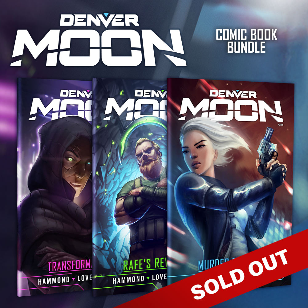Buy the Denver Moon Comic Bundle and save!